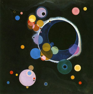 """Several Circles"", 1926, oil on canvas (140,3 x 140,7 cm)."