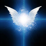 I had the experience of a light beam from two angels shining the beam into my eyes.